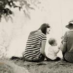 Družinsko fotografiranje – ribiči