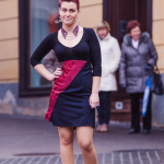 Modna revija recikliranih oblačil – TIE ME UP