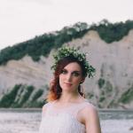 Fotografiranje poročne obleke – Maja Kiroska